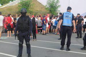 """Jandarmii Grupării Mobile, """"de pază"""" la stadionul Dan Păltinișanu. Asigură ordinea la două meciuri de fotbal!"""