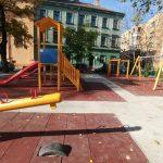 Foto: Locul de joacă din parcul aflat lângă Fântâna Punctele Cardinale a fost reabilitat complet