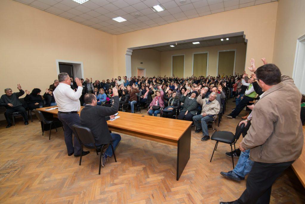 """Primarul Dănuț Groza a lansat o nouă platformă de dialog """"Echipa pentru Sânnicolau"""""""