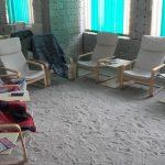 Stadiul lucrărilor la salina din comuna timișeană Gottlob