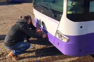 """Video: S-a terminat leasing-ul la autobuzele și troleibuzele din Timișoara. Acum au numere de """"TM"""""""