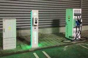 Inaugurarea primei stații fast charging pentru mașini electrice în Aeroportul Internațional Timișoara