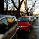 Foto: Atenție șoferi! Curg amenzile pe Calea Martirilor și pe strada Gheorghe Lazăr. Nu mai parcați!