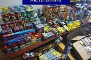 Dosar penal pentru vânzarea de articole pirotehnice