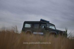 Albanez depistat în timp ce încerca să intre ilegal pe teritoriul României