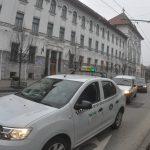 Şoferii de taxi din Timișoara, un nou protest împotriva Uber