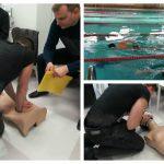 """Foto: Să nu mai ziceți că stau degeaba! """"Marinarii"""" Poliției Locale învață tehnici de salvare de la înec"""