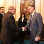 Ministrul apărării naţionale s-a întâlnit cu ambasadorul Marii Britanii şi Irlandei de Nord