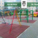 Foto: Reabilitarea locurilor de joacă din Timișoara a ajuns și la marginea orașului, pe strada Silistra
