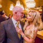 Foto. O timişoreancă se mărită cu un multimilionar care deţine Statuia Libertăţii