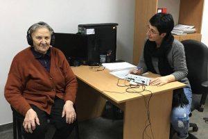 Teste gratuite a auzului pentru beneficiarii Centrului de asistență și recuperare pentru persoane aflate în dificultate