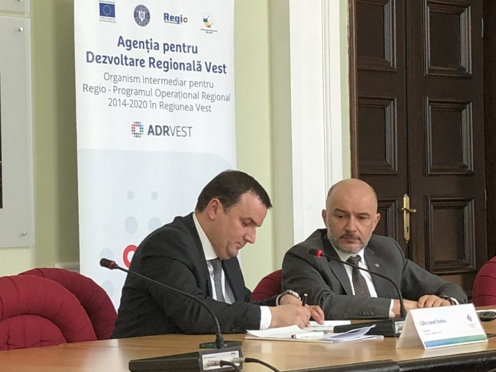 Drumul județean ce leagă Timișoara de Autostrada A1, modernizat și lărgit la 4 benzi cu finanțare europeana