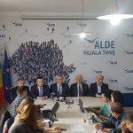 """Călin Popescu-Tăriceanu:""""Sunt extrem de mulțumit de activitatea politică a colegului meu Marian Cucșa, deputat și președinte ALDE Timiș"""""""