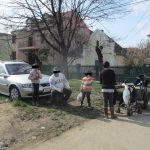 Copii depistați de polițiștii locali la cerșit în Piața Verde. Ce amenzi au primit părinții lor