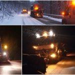 Drumarii din zona de vest s-au confruntat cu cea mai geroasă noapte