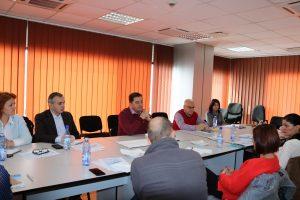 Reprezentanţii aeroportului s-au întâlnit cu operatorii de turism