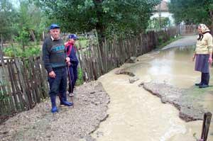 Cod galben de inundaţii pe râuri şi pârâuri din vest şi sud-vest