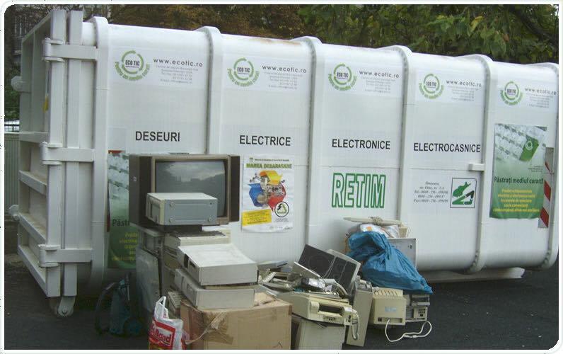 Locuitorii din Biled informați despre selectarea corectă a deșeurilor electrice și electrocasnice