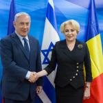 Premierul României, Viorica Dăncilă, întâlnire cu omologul israelian, Benjamin Netanyahu