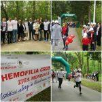 Peste o sută de oameni au participat la Hemofilia Cros