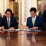 Primarul Timişoarei a semnat un acord de cooperare cu un oraş din Portugalia