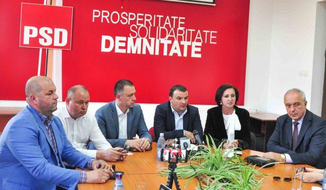 Premierul Viorica Dăncilă are susţinerea organizaţiilor PSD din vestul ţării