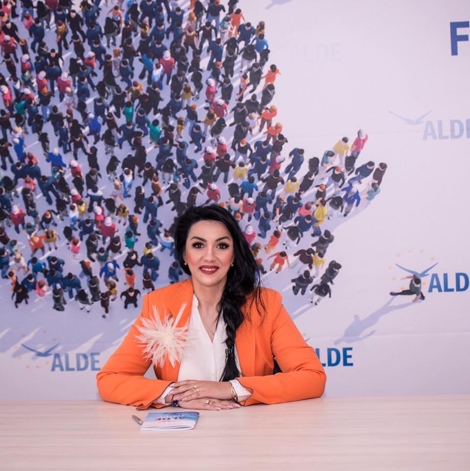 Lidia Laction, vicepreședinte OFLDE la nivel național