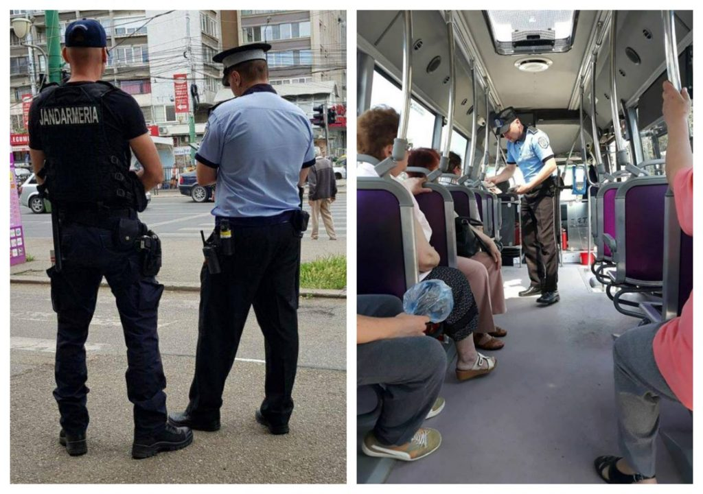 Peste 700 de amenzi aplicate de polițiștii locali și jandarmi, în mijloacele de transport în comun
