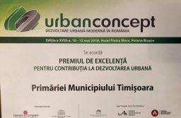 Timişoara a primit Premiul de excelență pentru dezvoltare urbană