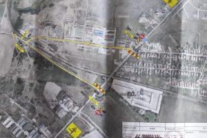 Trafic rutier deviat în zona căii ferate de la Giarmata pe DJ 691
