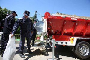 A fost demarată procedura de licitație publică pentru achiziția a două utilaje pentru încărcarea sacilor cu nisip
