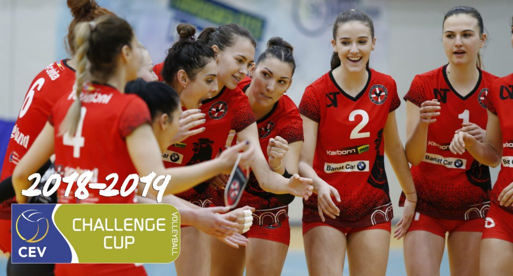 UVT Agroland Timișoara s-a înscris în Cupa Challenge