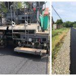 Încă o stradă  asfaltată pentru locuitorii comunei Biled
