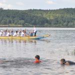 Eveniment inedit pe lacul Surduc şi pe râul Timiș
