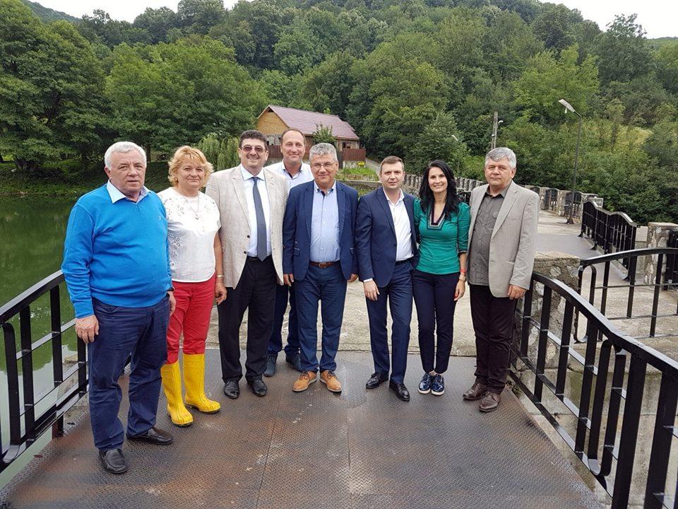 Ministrul Apelor și Pădurilor, vizită de lucru în Caraș Severin