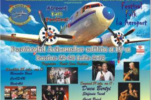 Ducu Bertzi, printre artiştii care vin la Festivalul Avioanelor de la Buziaș