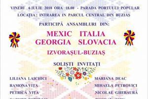 Festival internaţional de folclor, la Buziaş