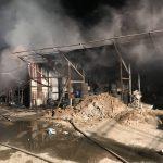 Flăcările au distrus o vulcanizare și acoperișurile a două case din Timișoara