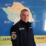 Un jandarm timişoarean a salvat viaţa unui tânăr prins într-un incendiu