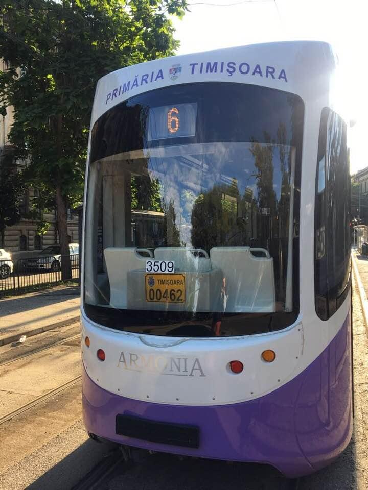 Tramvaiul 6 s-a întors pe şine