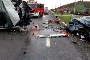 Accident rutier la Belinț. Trei oameni au murit