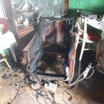 O casă s-a făcut scrum în localitatea timișeană Hodoni