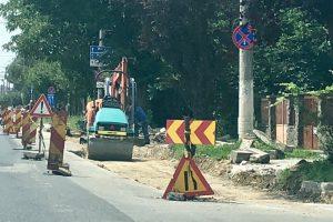 Continuă lucrările de reparații pe mai multe străzi din Timișoara