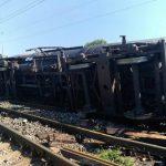 Trenurile care circulă pe ruta Timişoara Nord – Bucureşti, afectate după ce un marfar a deraiat