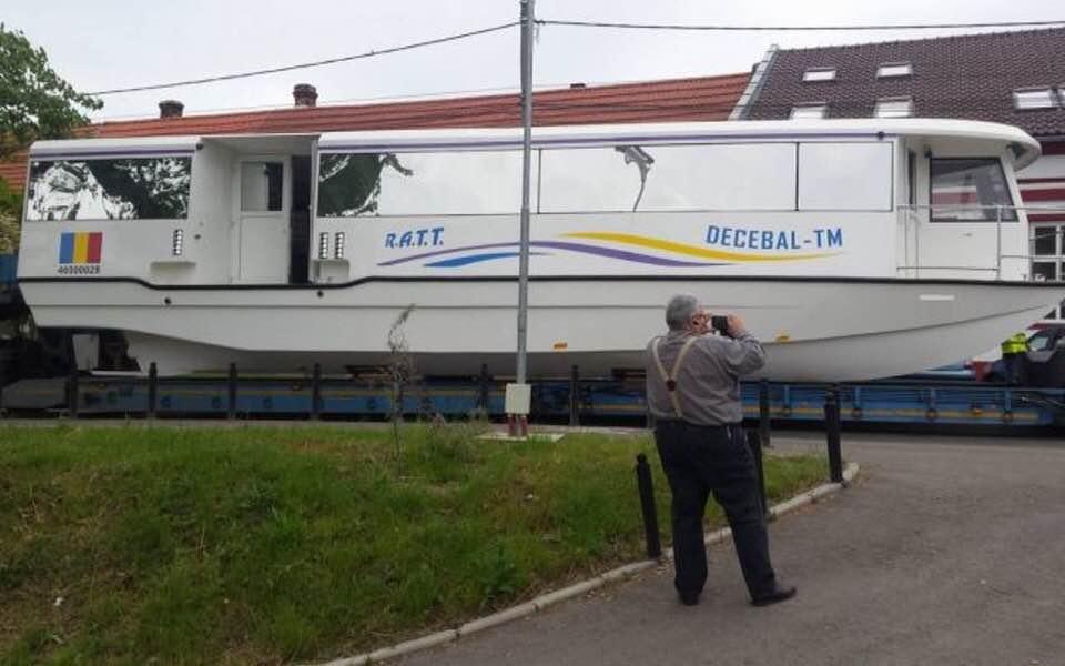 """Probleme cu vaporașele din Timișoara? """"Am serioase semne de întrebare despre starea tehnică"""""""