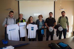Aquatim susține campania SOCIAL BIKING CHALLENGE