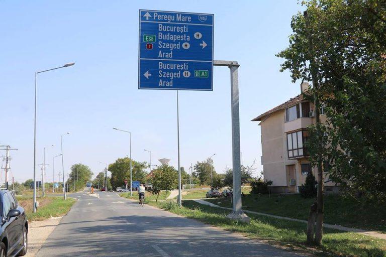 Drumul dintre Nădlac și Peregu Mare, finalizat în curând