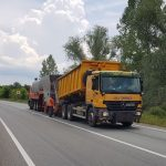 CJT montează cântar electronic pentru camioane pe drumul dintre Timișoara și Lipova