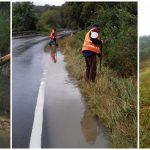 Angajaţii de la Drumuri au rezolvat problemele cauzate de vânt şi ploaie