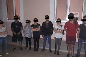 Grup de opt migranți depistat de polițiștii locali în Calea Aradului